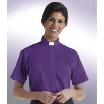 Womens Tab Collar Clergy Shirt SW112