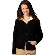 FEMALE V-NECK CARDIGAN SWEATER EDW450