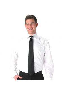 MEN\'S WHITE DRESS SHIRT 1801